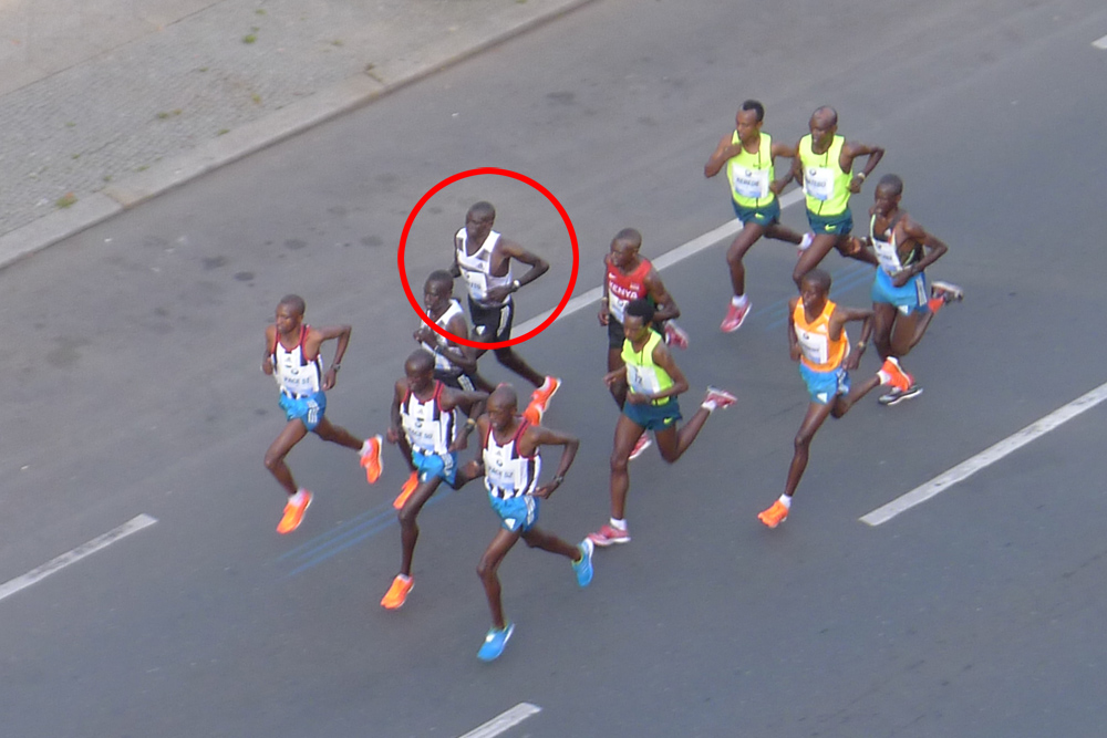 Berlin Marathon 2014 with world record breaking winner Dennis Kimetto