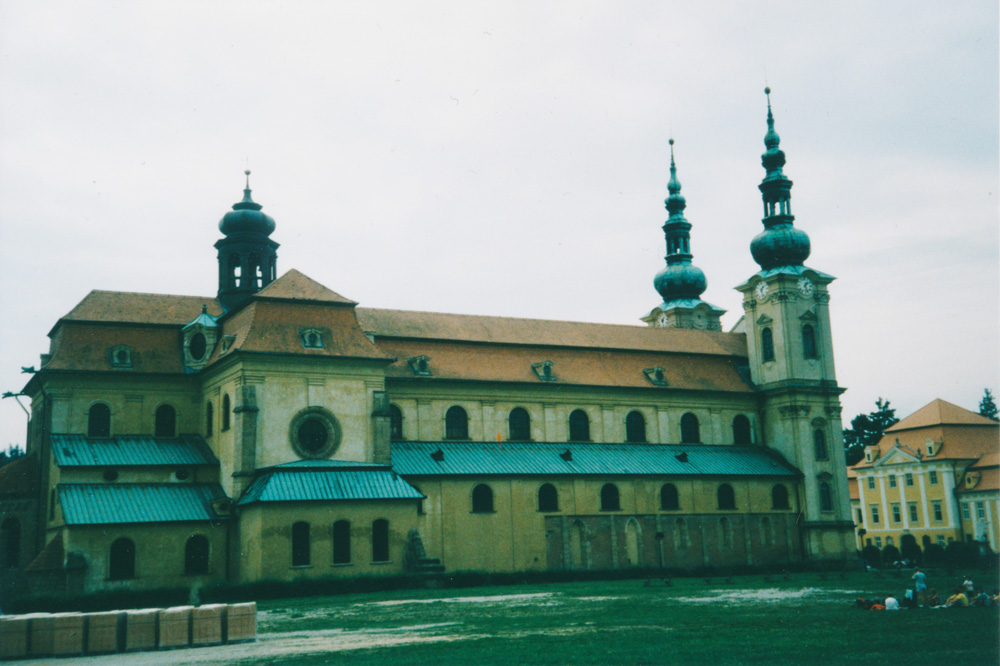 Velehrad, the cathedral in the village with the same name.