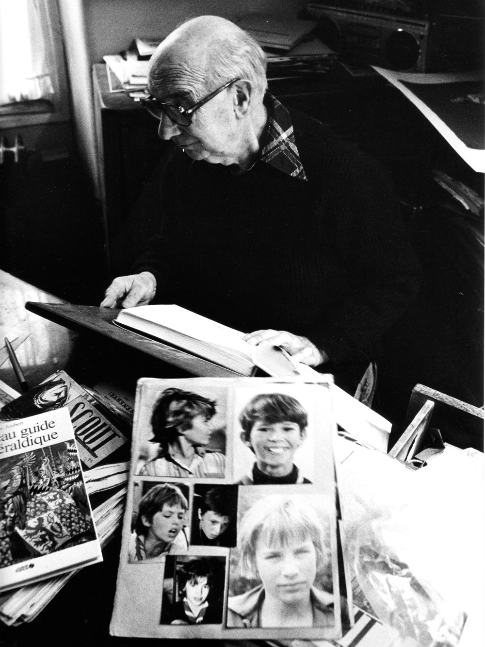 Pierre Joubert, photographed in the 1980s by Mark Silver